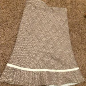 GAP Skirts - Mint and brown tweed skirt